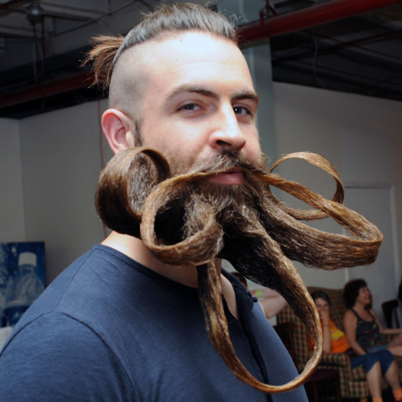 how to grow beard faster naturally in telugu