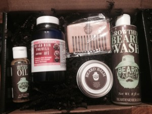Open Beard Facial Hair Kit